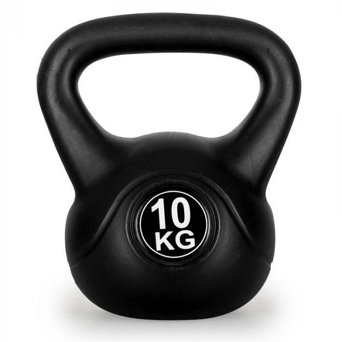 Kettlebell 10 Kg: Klarfit Kettlebell Kahvakuulat 2 X 10 Kg