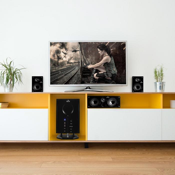 Areal 525 Wd actieve 5.1-kanaal-luidsprekersysteem AUX
