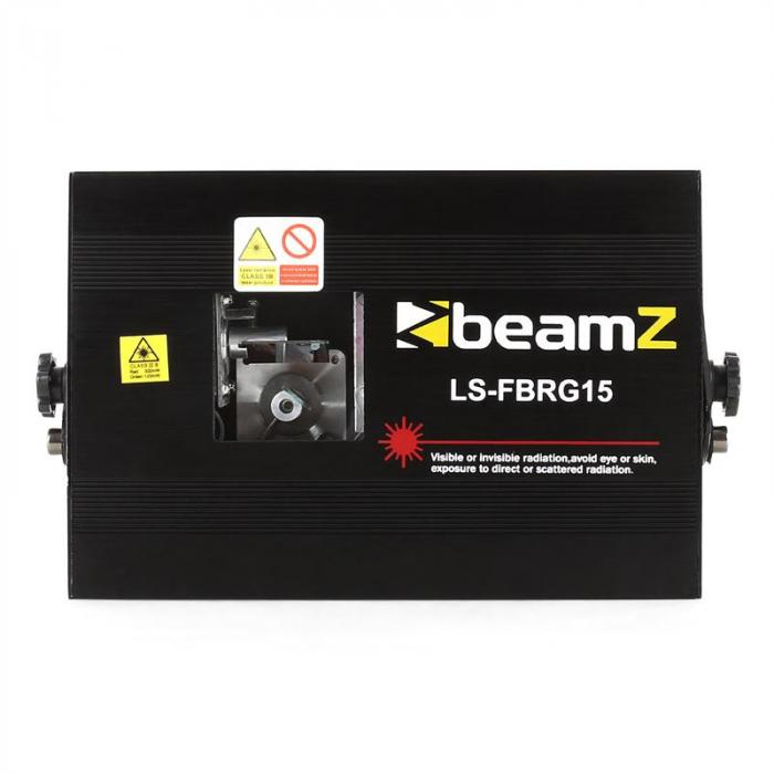 LS-FBRG15 laser, puna-vihreä