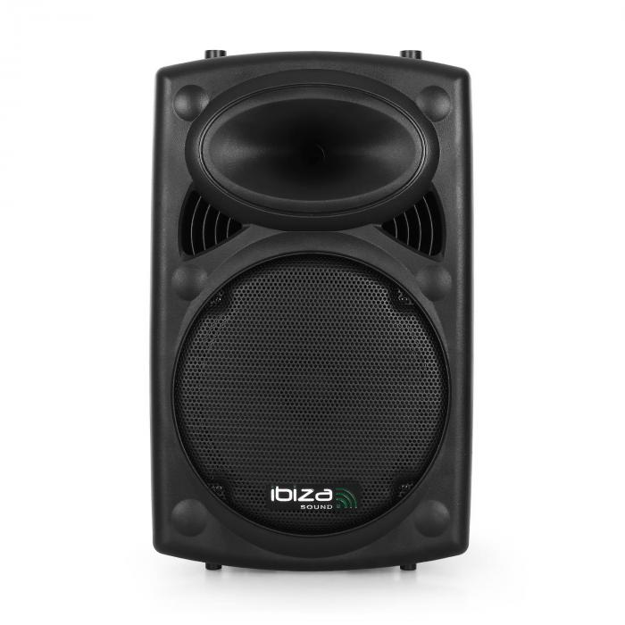 "Port12VHF-BT Portable 12"" PA Speaker USB SD AUX MP3 Bluetooth"
