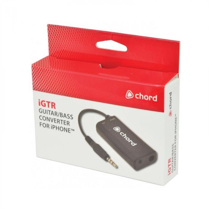 iGTR Gitarren-/ Bass-Konverter AdapteriOS iPhone iPod Touch iPad E-Gitar