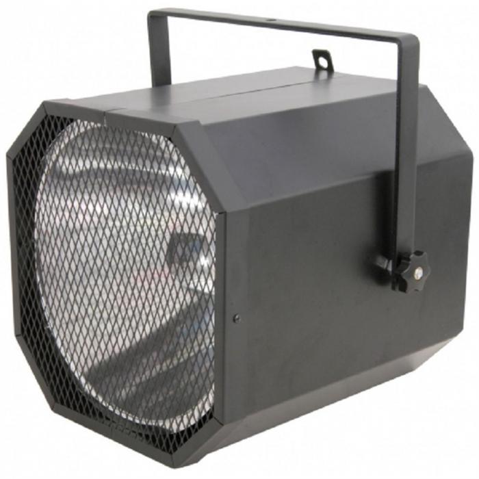 UV Cannon -valonheitin 400W musta valo ilman lamppuja