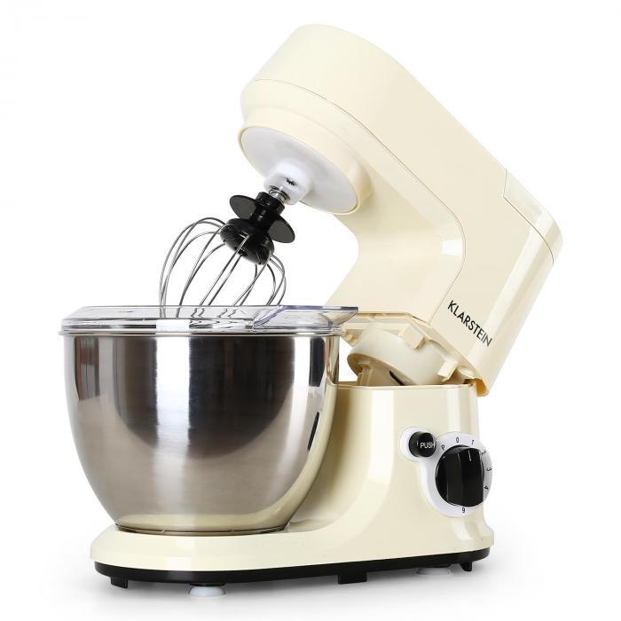 Carina Morena Pasta Maker Set Food Processor 800W 4L Stainless Steel Bowl