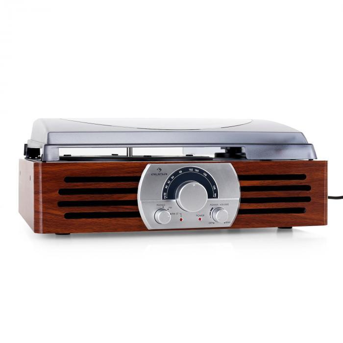 TT-83N platenspeler FM/MW hout