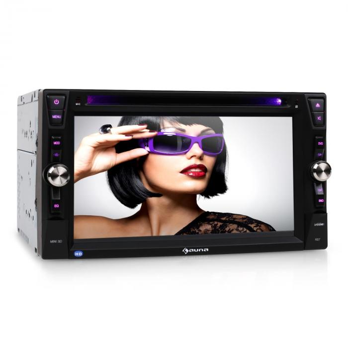 "MVD-481 Moniceiver DVD CD MP3 USB SD HD 6,2"" Touchscreen Bluetooth"
