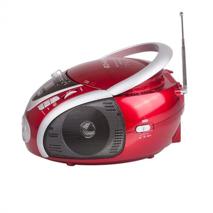 CMP-542 ghettoblaster punainen USB-CD-MP3