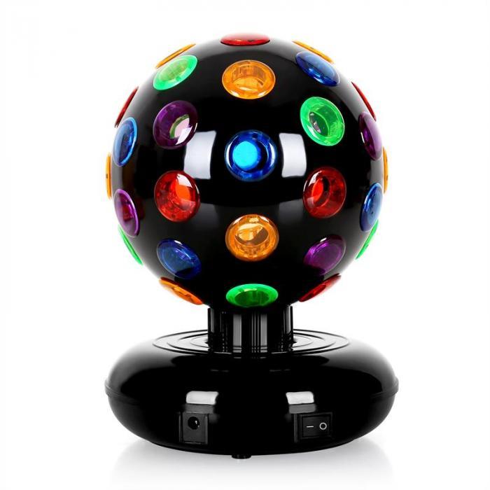 Disco Ball discopallo LED 9W musta
