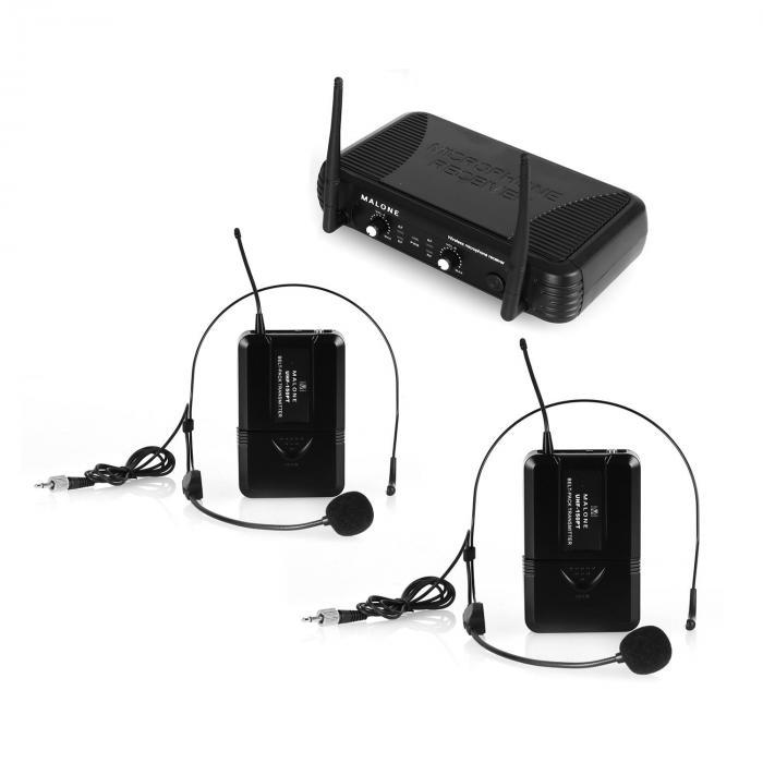 UHF-250 Duo2 2-Kanal UHF-Funkmikrofon-Set