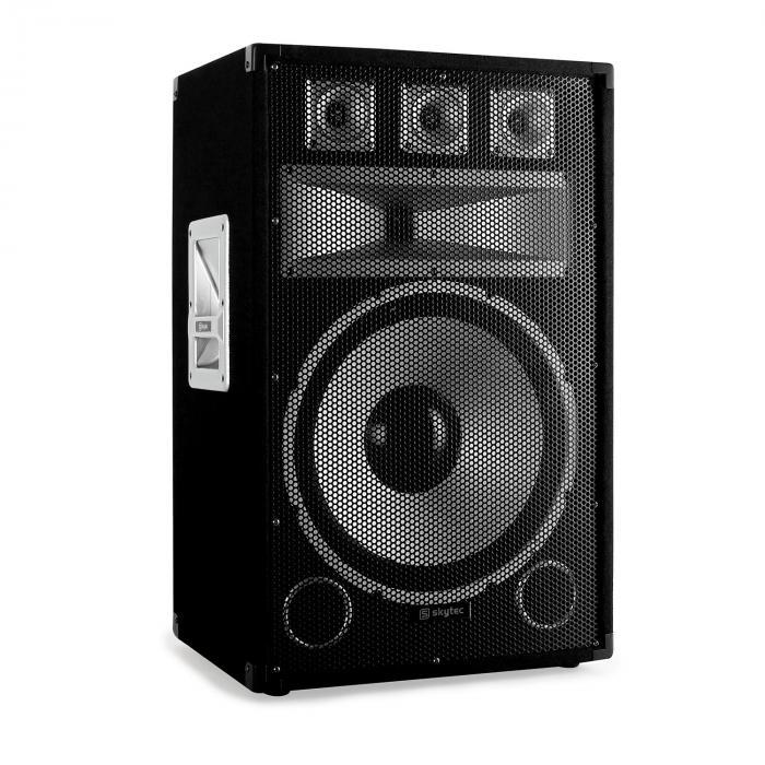 "DJ ""Warm Up Party"" Disco PA Set 1200W DJ Amplifier 15"" Speaker Pair"