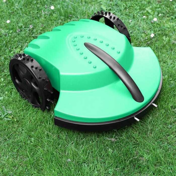 Garden Hero robottiruohonleikkuri 1500m² 3h akku sadesensori vihreä