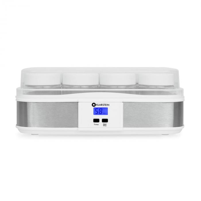 Gaia 12 Jar Yoghurt Maker Digital Display 100% Natural