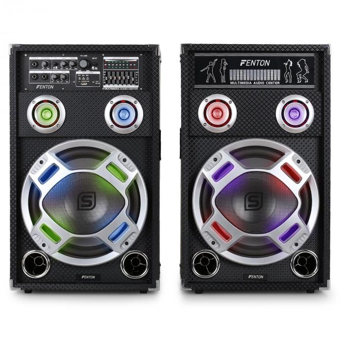 / Skytec KA-12 aktiivinen karaoke-PA-kaiutinsetti