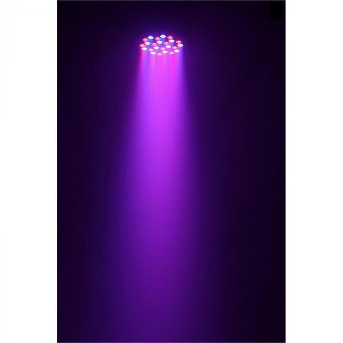 LED PAR 36x 3W RGBW LED-PAR-valonheitin 120W