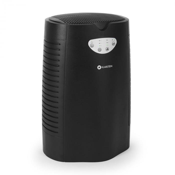 vita pure purificateur d 39 air ioniseur filtre charbon actif 35w noir noir electronic star fr. Black Bedroom Furniture Sets. Home Design Ideas