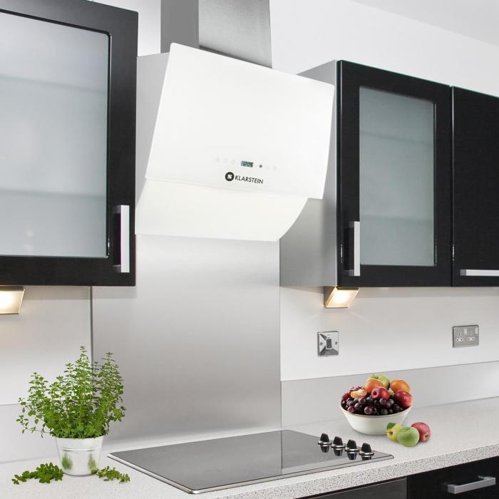RGL60WH Cappa Aspirante da cucina senza coperchio 60cm 550m³/h ...