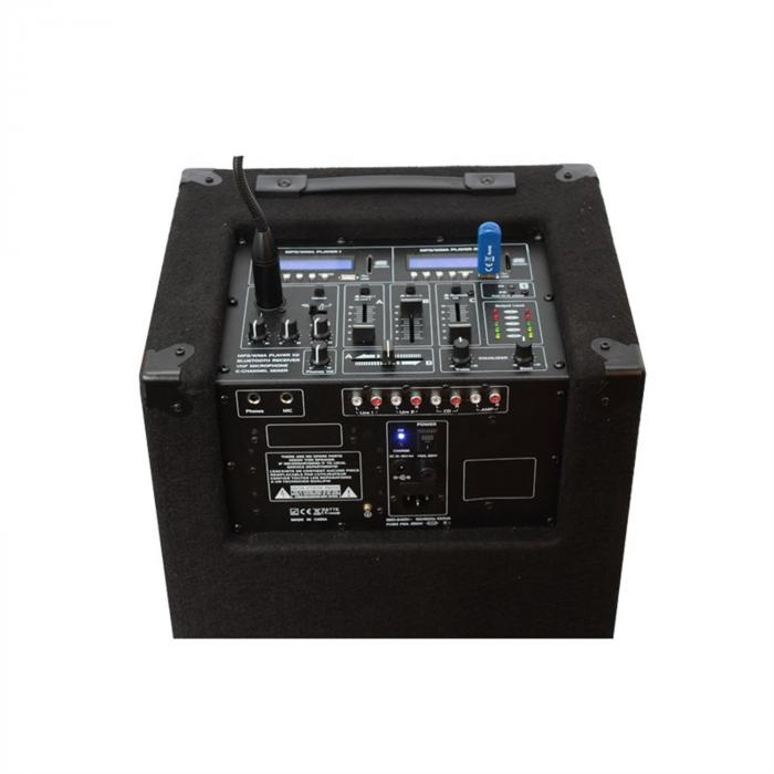 Standup212 impianto DJ portatile USB SD BT
