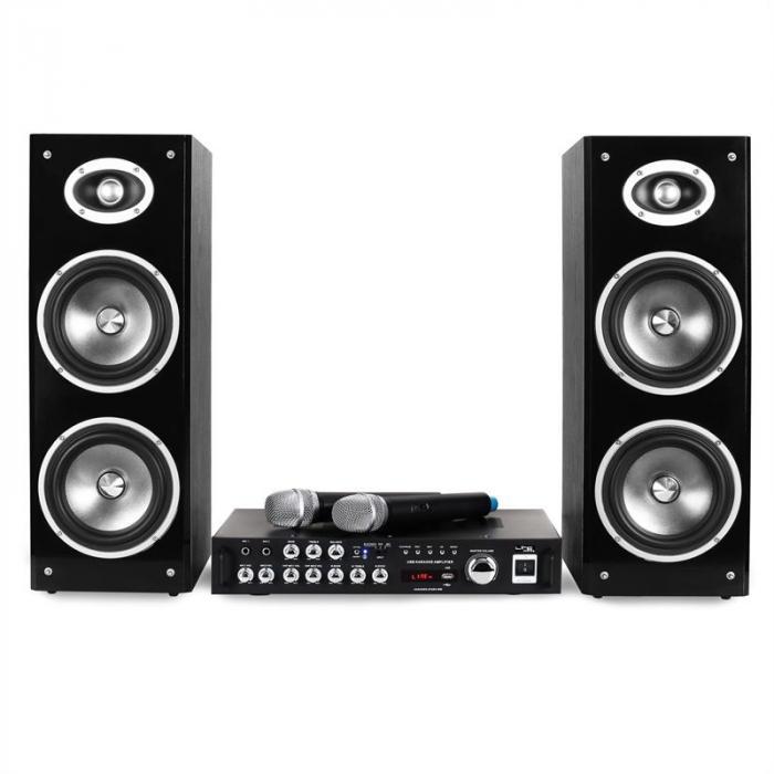 Karaoke-Star3-WM Set Karaoke Bluetooth USB BT MIC