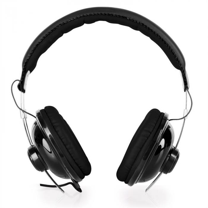 VHP-YO300BK kuulokkeet nahka musta