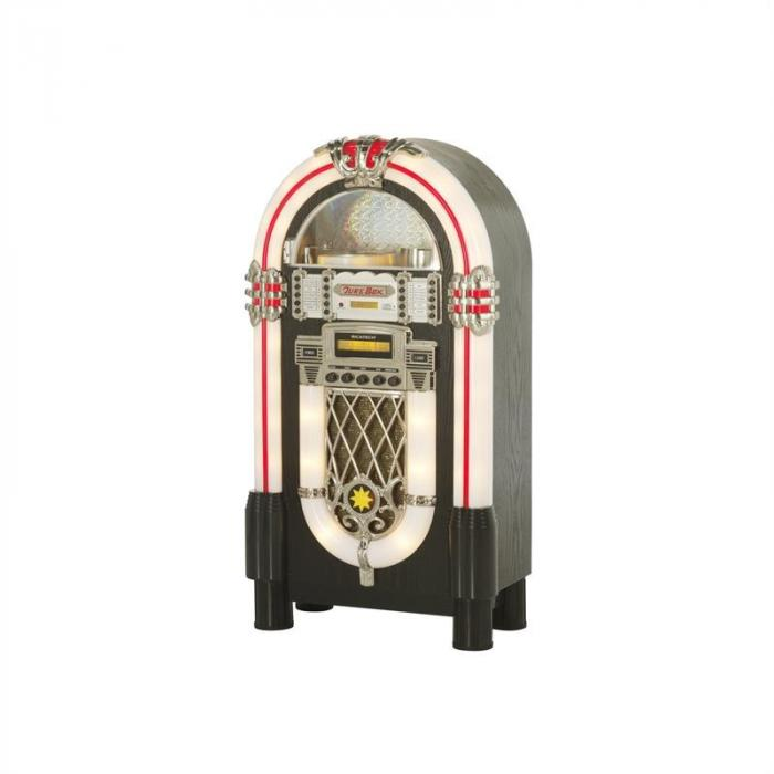 RR950 jukeboksi AUX CD FM/AM LED