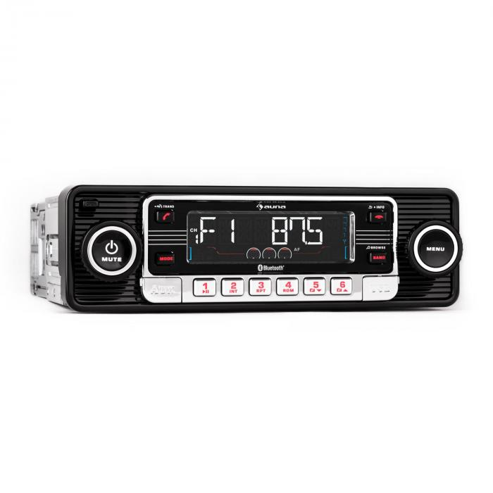 TCX-1-RMD-autoradio musta Bluetooth USB SD MP3 AUX CD
