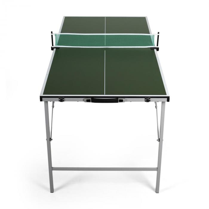 mini table de ping pong pliable verte vert electronic star fr. Black Bedroom Furniture Sets. Home Design Ideas