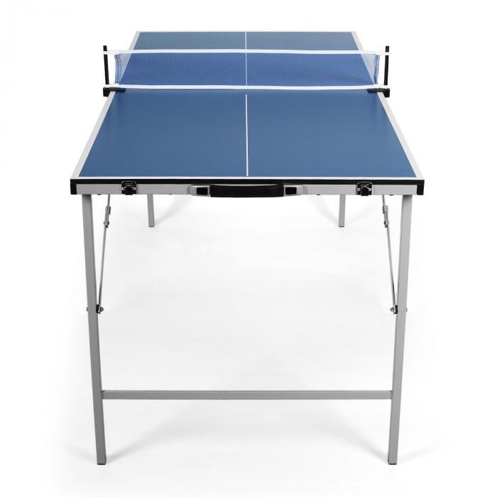 mini table de ping pong pliable bleue bleu electronic star fr. Black Bedroom Furniture Sets. Home Design Ideas
