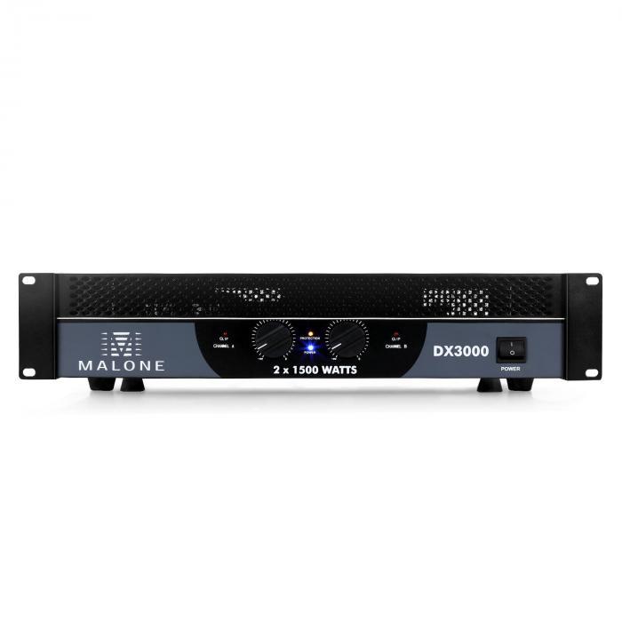 DX3000 PA Amplifier 3000W Bridgeable