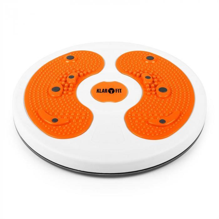 myTwist BodyTwister disco massaggio piedi arancione