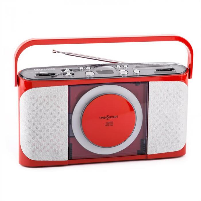 Boomtown-Girl portable CD Player Radio vollmobil