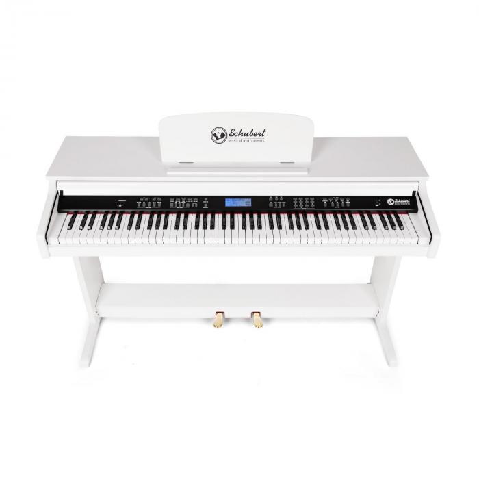 Subi88P2 88-Tasten E-Piano MIDI weiß