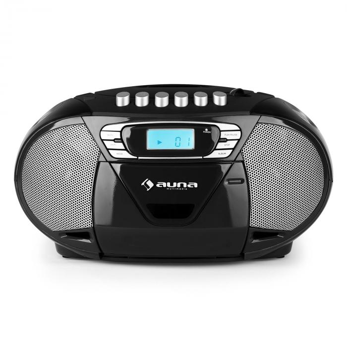 KrissKross Radio portatileUSB MP3 nero