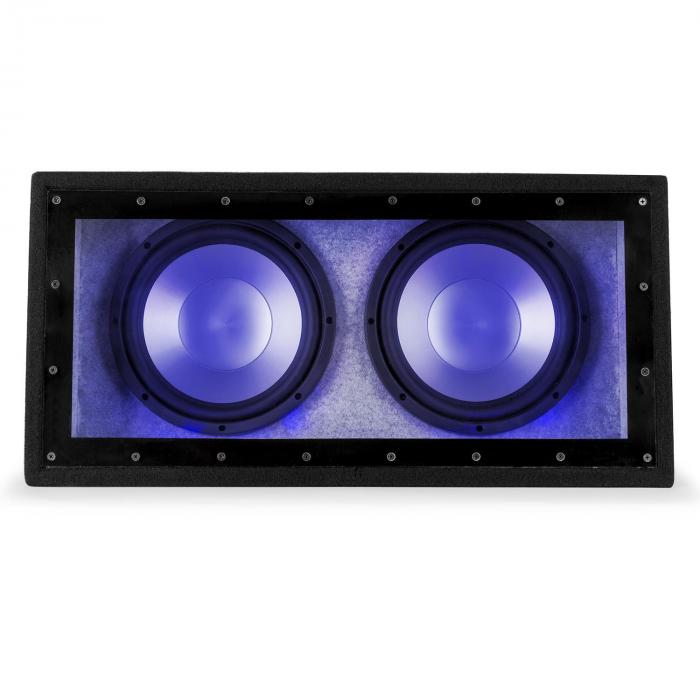 "Cannonbeat TX12 Passive Car Subwoofer 2 x 12"" Enclosed"
