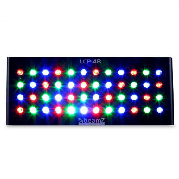 LCP-48 Pannello LED colorato 48 x 1W RGW