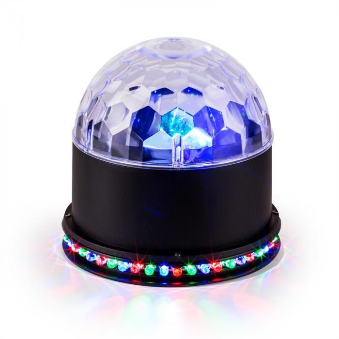UFO-ASTRO-BL LED-Lichteffekt RGB schwarz