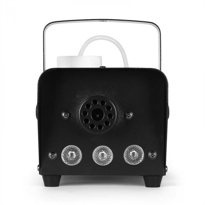 LSM400LED-BK Mini Nebelmaschine amber LED