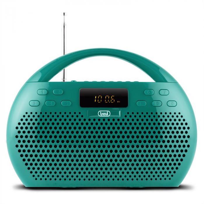 KB 308 BT radio digitaalinen mankka Bluetooth USB microSD vihreä