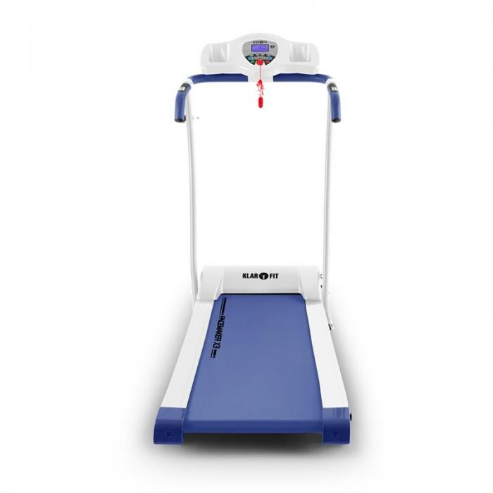Pacemaker X3 Tapis Roulant 1,5 HP 12 km/h Cardiofrequenzimetro Bianco -