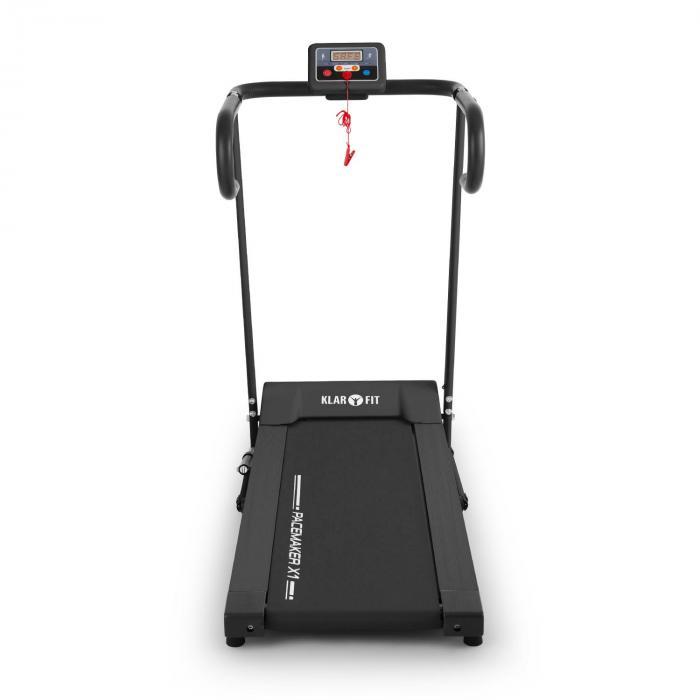 Pacemaker X1bieżnia 10 km/h komputer treningowy czarna