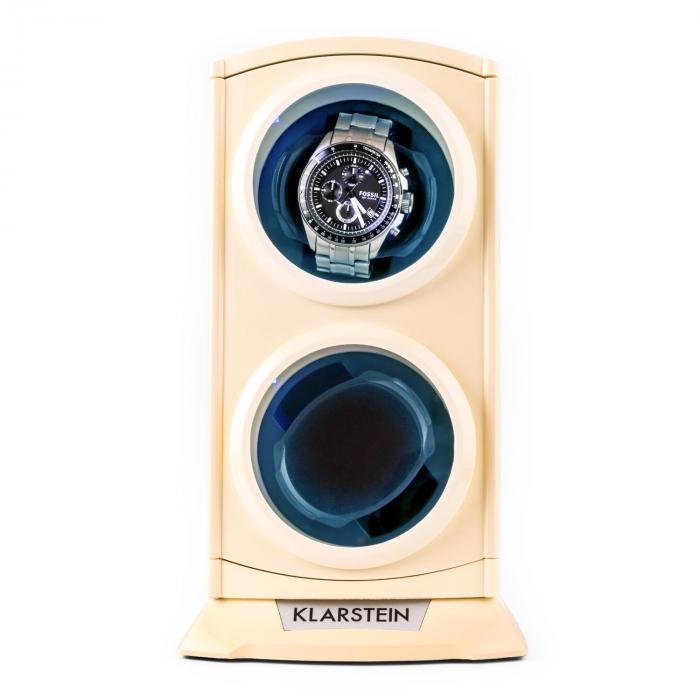 St.Gallen Premium Expositor para 2 Relógios 4 Modos LED