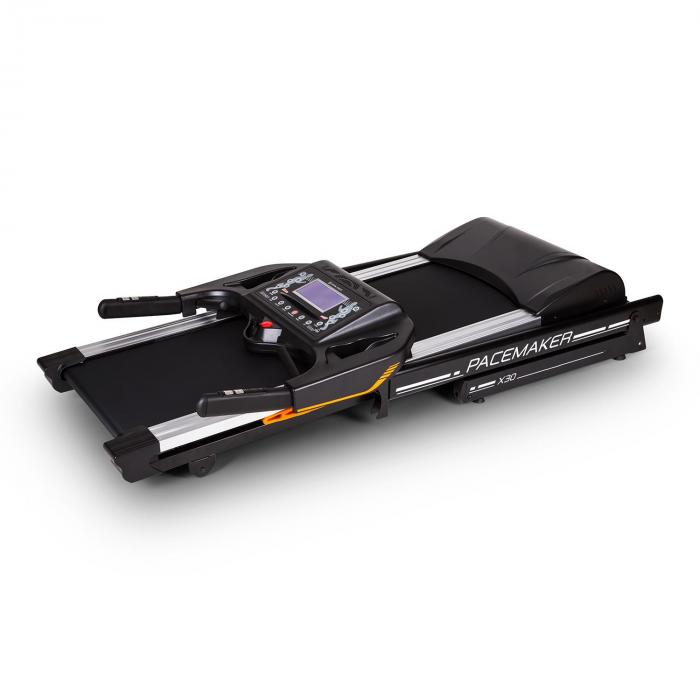Klarfit Pacemaker X30 juoksumatto kotikuntolaite 6,5hv 22km/h sykemittari musta