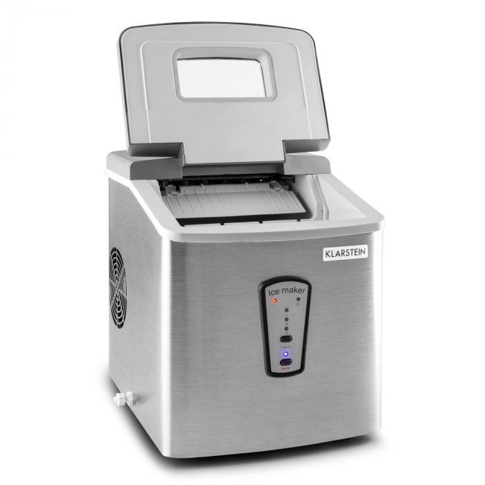 Powericer Ice Machine 180W 15kg/day Stainless Steel