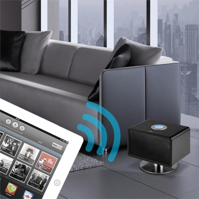 LivingQube Altoparlante Bluetooth Nero