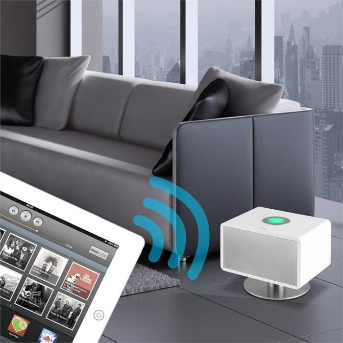 LivingQube aktiver Bluetooth-Lautsprecher 50Wmax. weiß
