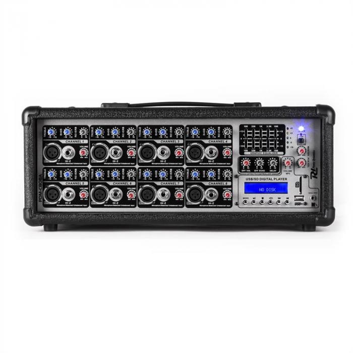 PDA-C808A Power Mixer 8 canali 800 W