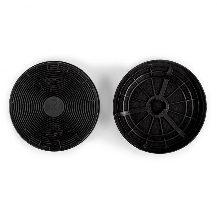 Active Carbon Filter Spare Part 2 Filters Recirculated Air Operation Ø18cm
