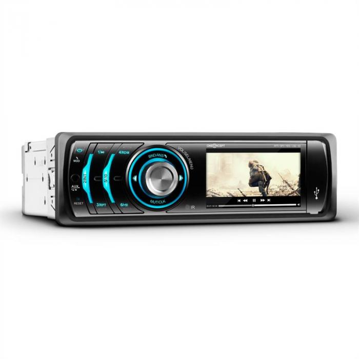 "MDD-150-BT Autoradio 7,5 cm (3"")-Display Foto Video Bluetooth USB"