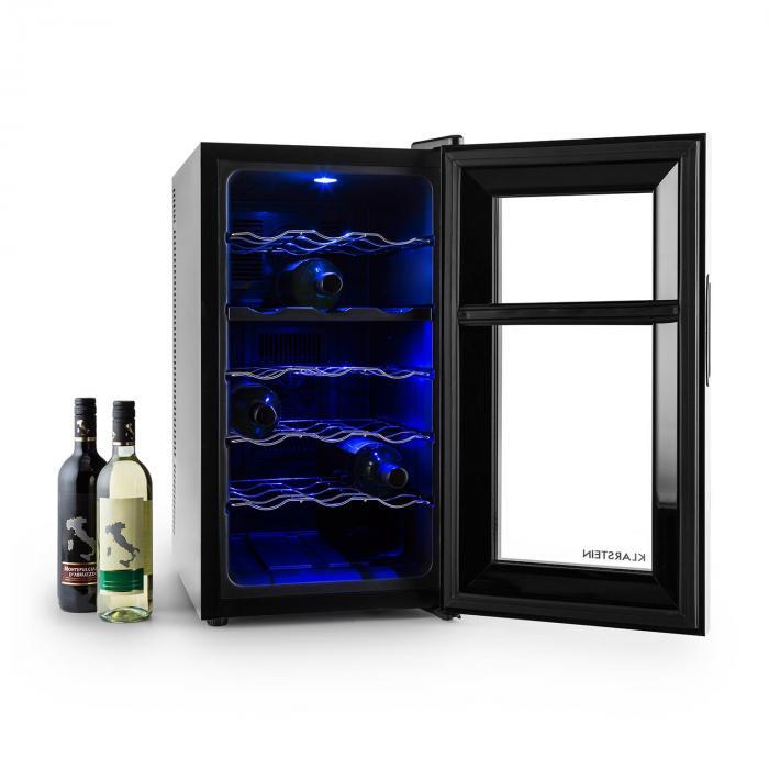 Vinesse Weinkühlschrank 43 Liter 18 Flaschen 2-Zonen Klasse C Touch