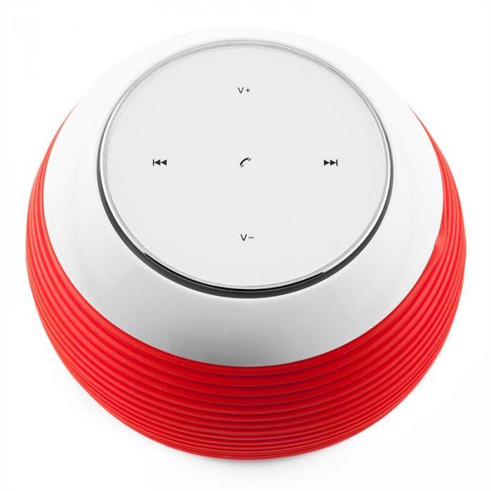 TES105 Altoparlante Bluetooth AUX rosso