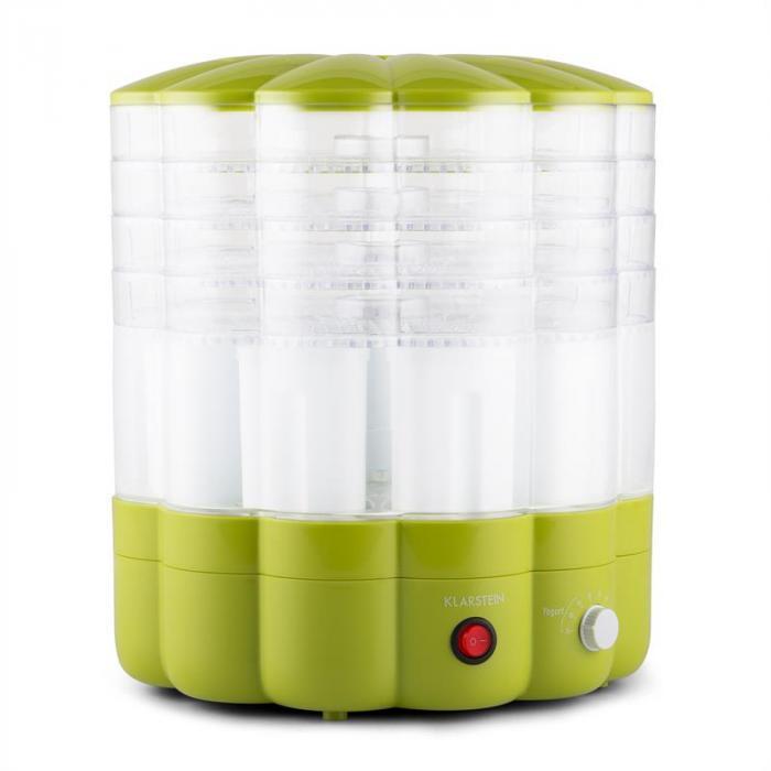 Yofruit Essiccatore 5 Ripiani Con Macchina per Jogurt Verde