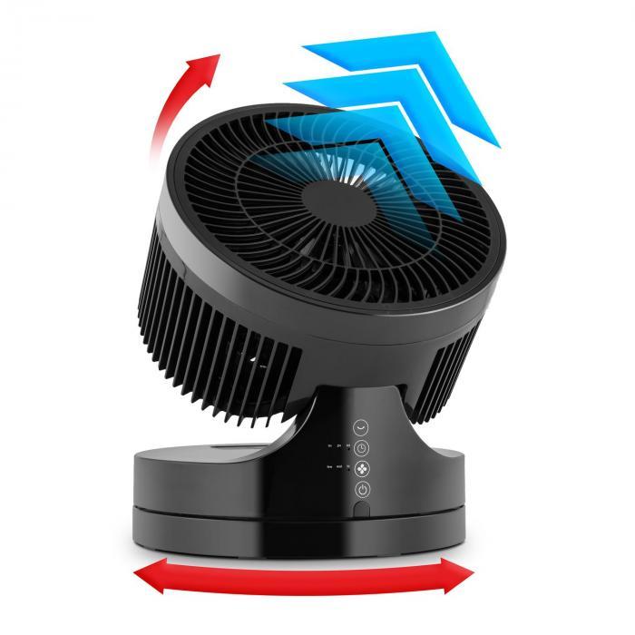 Touchstream golvfläkt 45W touch fjärrkontroll